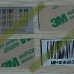 Metal Barcodes Tags