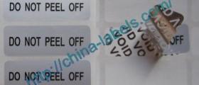 Warranty VOID Labels - DO NOT PEEL OFF